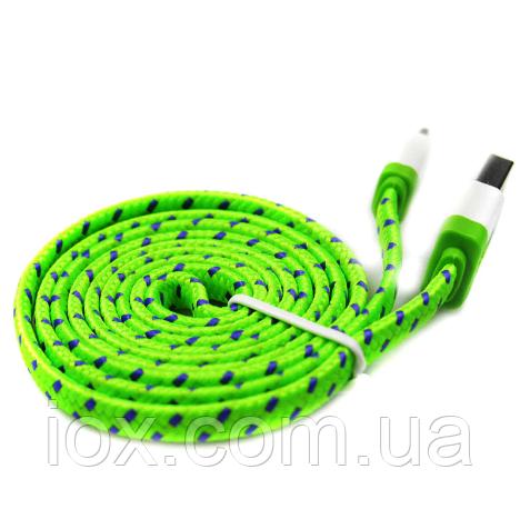 Плетеный USB кабель для зарядки и синхронизации данных с ПК для Apple Iphone 5, 5s, 6, 6s, 6 Plus