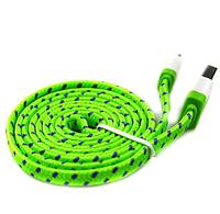 Плетеный USB кабель для зарядки и синхронизации данных с ПК для Apple Iphone 5, 5s, 6, 6s, 6 Plus, фото 1