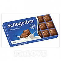 Шоколад Shogetten Alpenvollmilch (Шогеттен молочный) 100 г. Германия