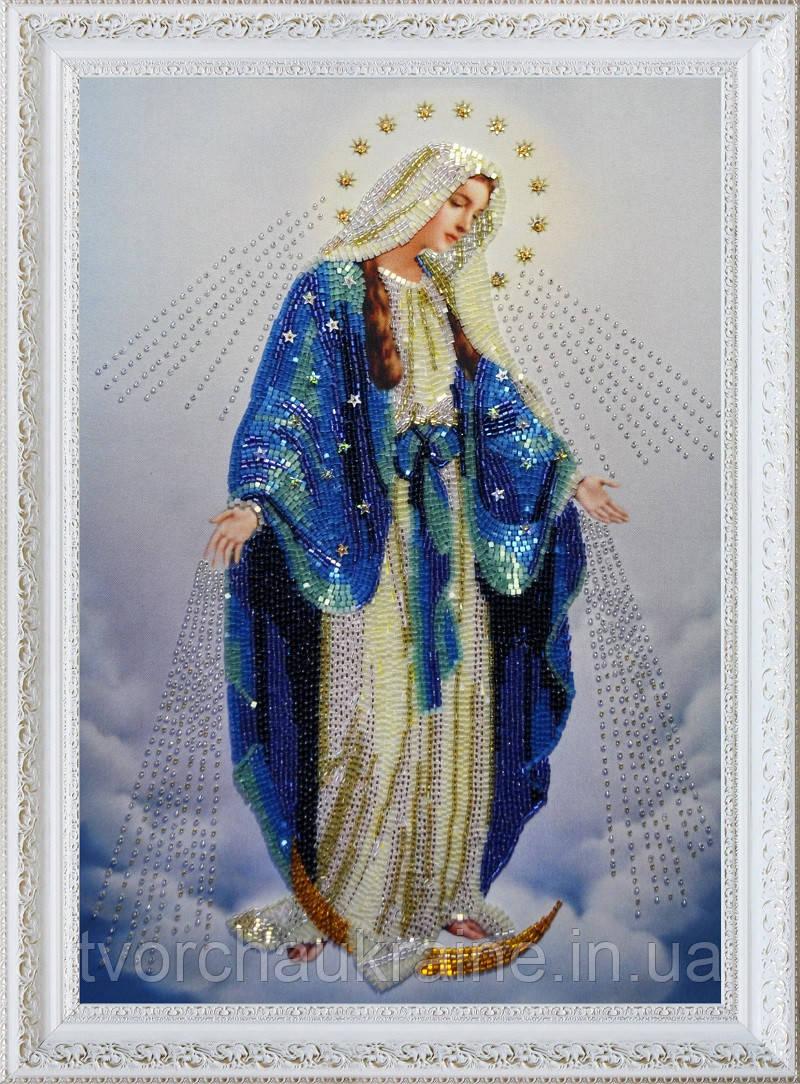 """Набор для вышивки бисером Икона """"Пресвятая Дева Мария"""""""