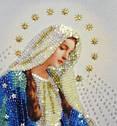 """Набор для вышивки бисером Икона """"Пресвятая Дева Мария"""", фото 2"""