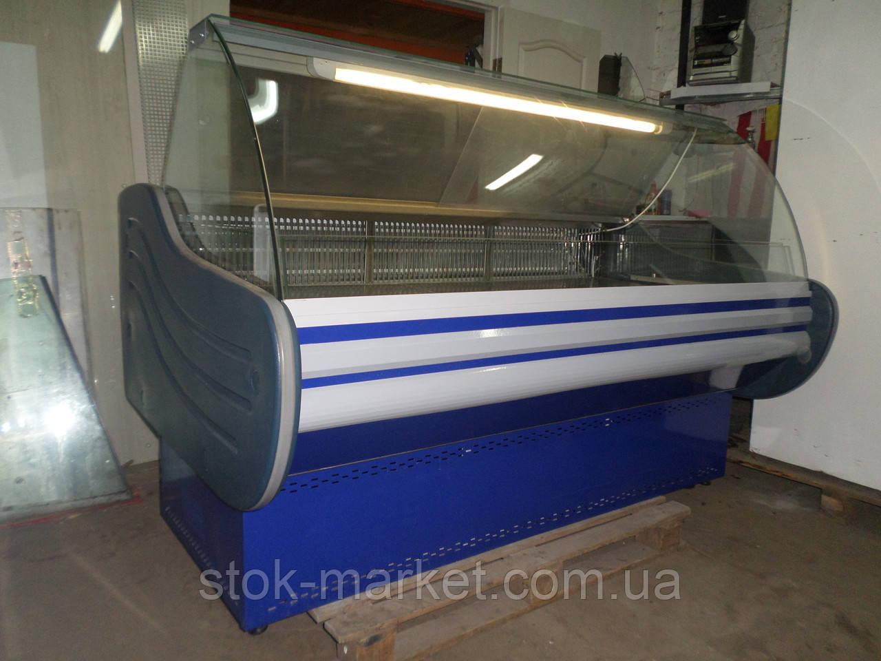 Холодильная витрина 1,8 м б/у Айстермо, холодильная камера, витрина гастрономическая б у, средне температурная