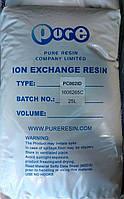 Ионообменная смола (сильнокислотный катионит) PURE PC002ID