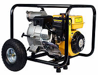 Мотопомпа бензиновая Forte FPTW30 (для грязной воды, 45 м. куб/час)  Бесплатная доставка