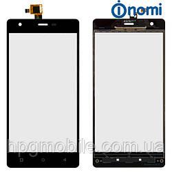 Сенсорный экран для Nomi Shine i506, черный, оригинал