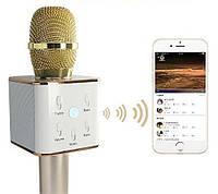 Микрофон для Караоке со встроенным динамиком Беспроводной Bluetooth, USB, AUX (4 цвета), фото 1