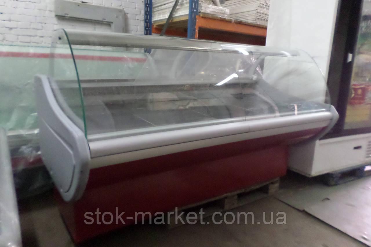 Холодильная витрина ПВХС Л-М-Д  2.0м.