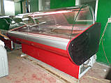 Холодильная витрина ПВХС Л-М-Д  2.0м., фото 3