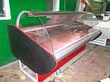 Холодильная витрина ПВХС Л-М-Д  2.0м., фото 4