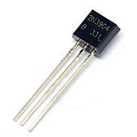 Транзистор 2N3904 NPN 60V 0,2A TO-92, фото 2