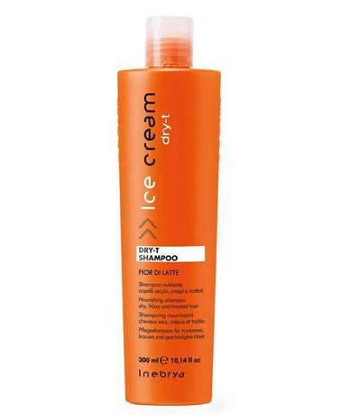 Inebrya Dry-T Шампунь питательный для сухих и поврежденных волос 300 мл.