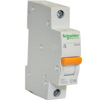 Автоматический выключатель 1пол_SCHNEIDER_BA63 1P 25A C