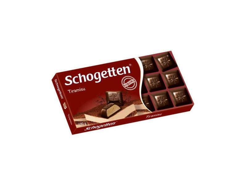 Шоколад Shogetten Tiramisu (Шогеттен черный тирамису) 100 г. Германия