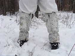Гамаши (Гетры) камуфлированные, фото 3