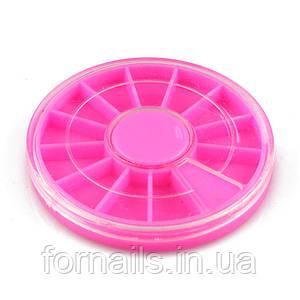 Каруселька для страз,розовая
