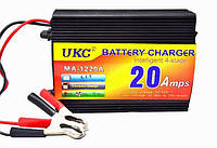 Зарядное устройство для авто аккумуляторов Battery Charger 20A MA-1220A: 4 уровня заряда, 12V