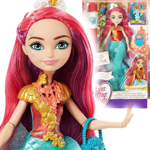 Кукла Эвер Афте Хай Русалочка Мишель Мермейд  Ever After High Meeshell L'Mer  Русалочка Мишель Мермейд