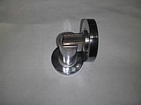Одбойник мебельный с  магнитом 7,5 см (хром)