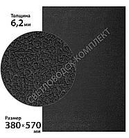 Резина набоечная BISSELL (БИЗЕЛ), art.076, р. 380*570*6.2 мм, цв. чёрный