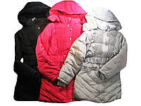 Куртка-пальто для девочек на меховой подкладке, Happy, размеры 8-16 лет, арт. P-17, фото 1