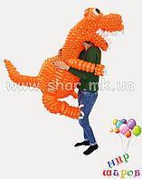 Динозаврик из воздушных шаров , фото 1