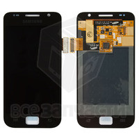 Дисплейный модуль для мобильного телефона Samsung I9000 Galaxy S, черн