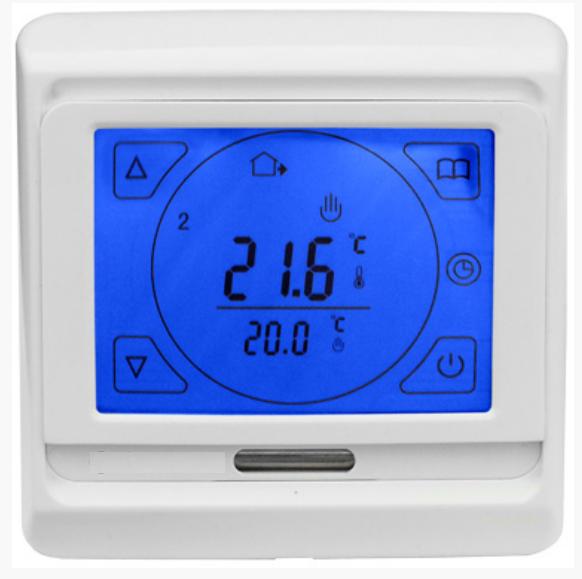 Сенсорный программируемый терморегулятор для теплого пола Menred E91 (RTC 89)