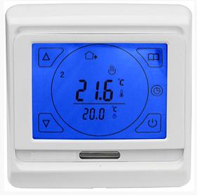 Сенсорний програмований терморегулятор для теплої підлоги Menred E91 (RTC 89)