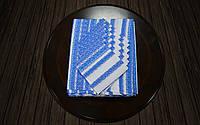 Комплект столовый голубой | Комплект столовий голубий 230х140