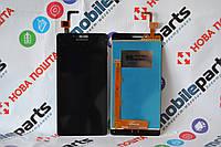 Оригинальный Дисплей + Сенсор (Тачскрин) LCD для Lenovo A6000 A6010 + Скотч + В подарок Стекло защитное!