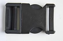 Чорний колір карабін фастекс 3см
