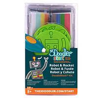 Набор аксессуаров для 3D ручки 3Doodler Start Ракета (3DS-DBK-RO)