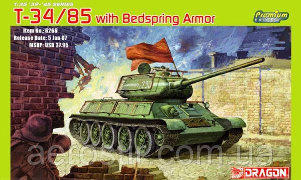 Танк Т34/85 обр.1944г 1/35 DRAGON 6266
