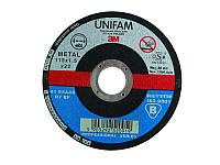 Зачистной круг UNIFAM тип 27 для стали 230мм х6,8 мм