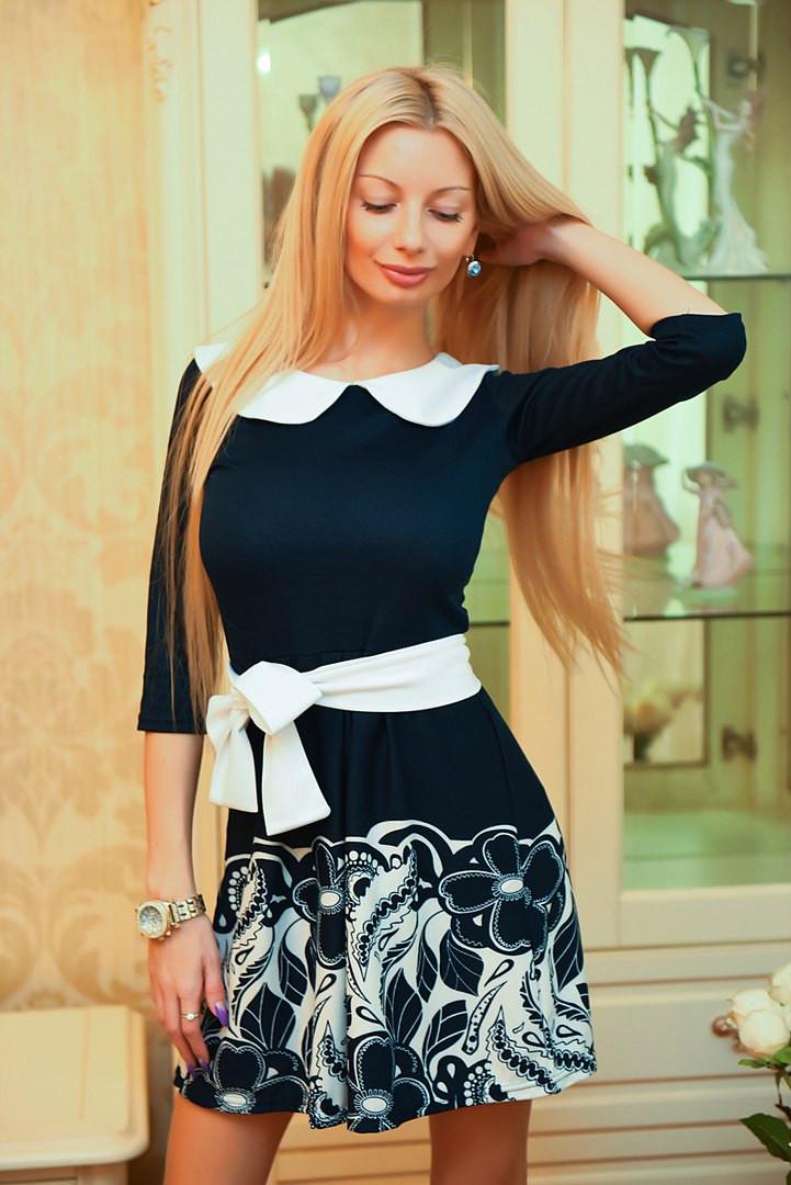 ДИ217 Платье с купоном