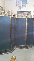 Ширма из бамбука 170х200 (чёрная)