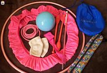 Чехлы для предметов и одежды гимнастики