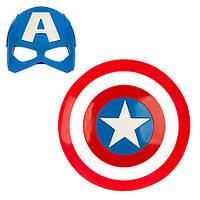 Щит и маска Капитан Америка Дисней / Marvel Captain America Disney, фото 1