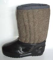 Валенки шитые, бурки с галошами, бурки, зимняя рабочая обувь