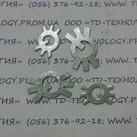Шайба стопорная многолапчатая ГОСТ 11872-89 Ф6