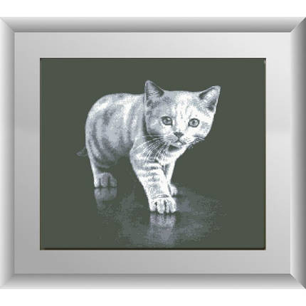 "Набор для рисования камнями ""Серый котенок"", фото 2"