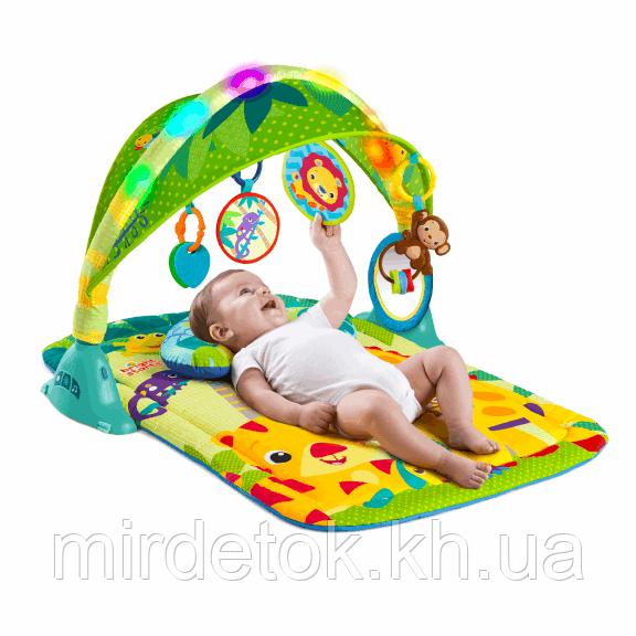 Развивающий коврик Bright Starts для младенца 10104 Джунгли  - Мир Деток и Подарков в Харькове