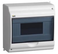 Бокс КМПн 2/9-1 на 9 модулей прозрачная крышка навесной 180х188х96 IP31 IEK (MKP42-N-09-31-01)