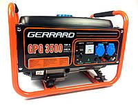 Генератор бензиновый Gerrard GPG3500 (2,5 кВт, ручной стартер)  Бесплатная доставка