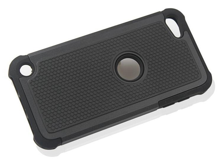 Чехол Primo Silicon Splint для плеера Apple iPod Touch 5 / 6 / 7 - Black