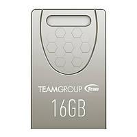 USB флешка Team C156 16Gb Silver ( TC15616GS01 )