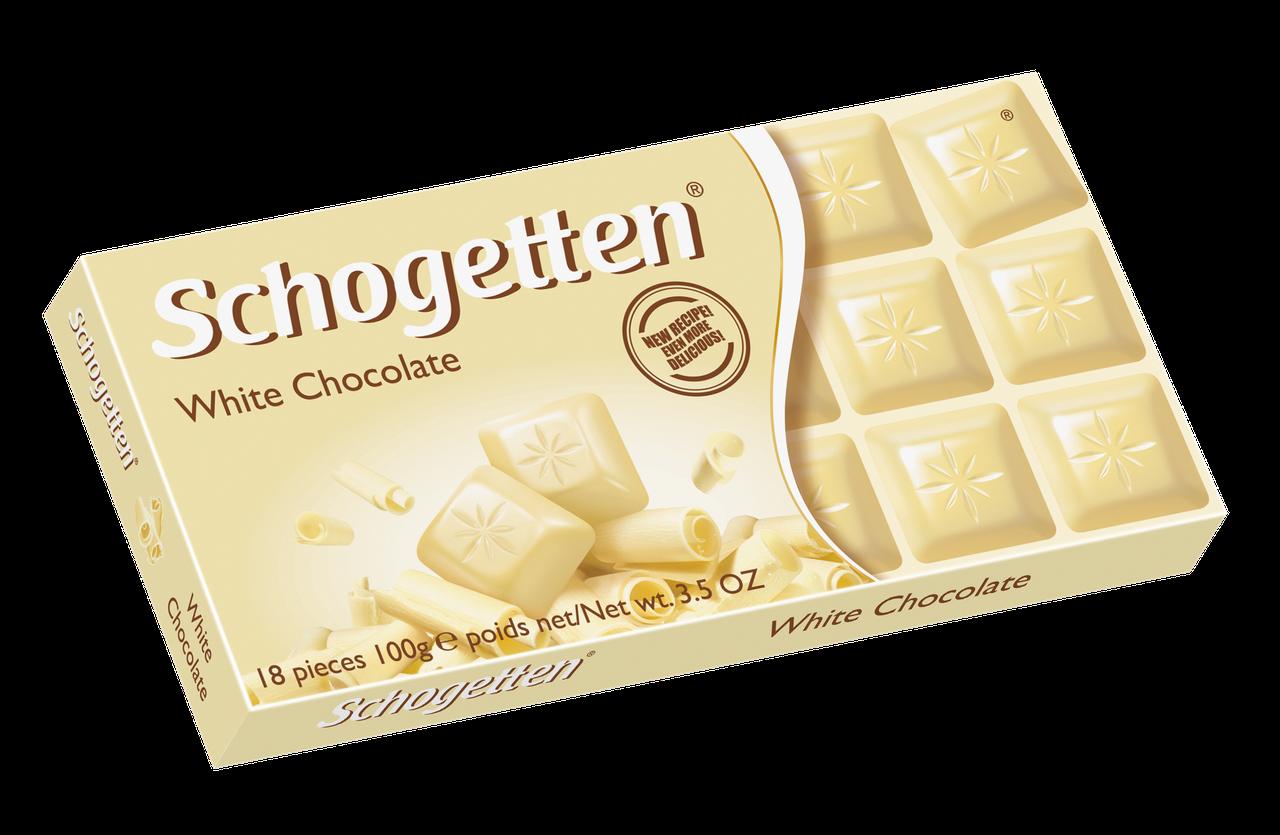 Шоколад Shogetten White Chocolate (Шогеттен белый шоколад) 100 г. Германия