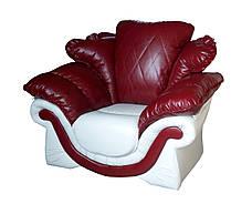 """Элегантное кожаное кресло """"Loretta"""" (Лоретта). (118 см), фото 2"""