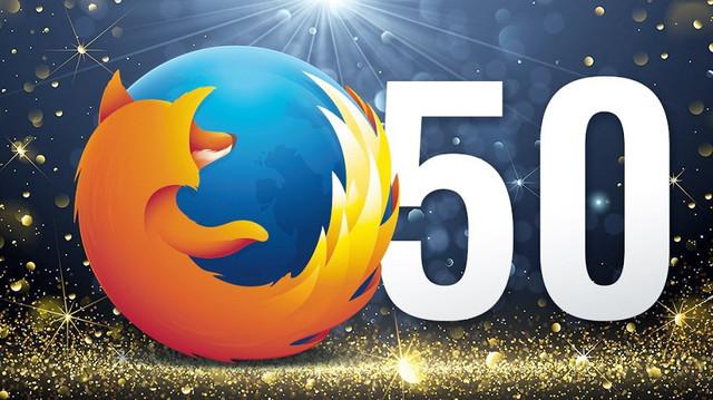 Firefoxу - 50!