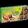 Шоколад Shogetten cookies Nut (Шогеттен ореховая начинка и кусочки печенья ) 100 г. Германия